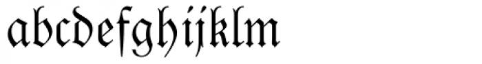 Luthersche Fraktur Font LOWERCASE