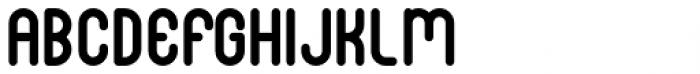 Luwest Rounded Regular Font UPPERCASE