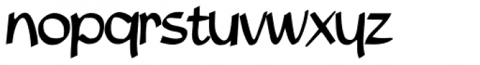 Luxe Font LOWERCASE