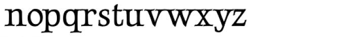 Luxurious Roman Font LOWERCASE