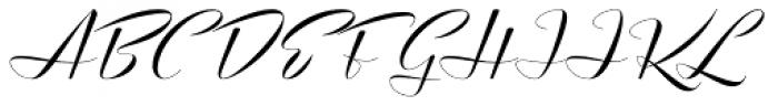 Luxus Brut Sparkling Font UPPERCASE