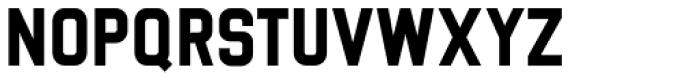 Luzern ExtraBold Font UPPERCASE