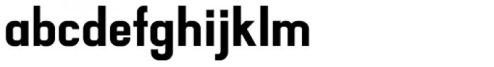 Luzern ExtraBold Font LOWERCASE