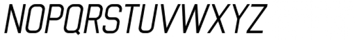 Luzern Italic Font UPPERCASE