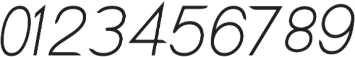 Lx Sans Italic otf (400) Font OTHER CHARS