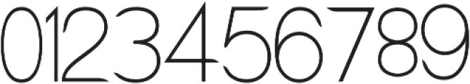 Lx Sans Light otf (300) Font OTHER CHARS