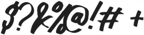Lydiani Script otf (400) Font OTHER CHARS