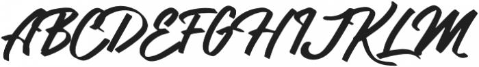 Lydiani Script otf (400) Font UPPERCASE