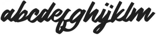 Lydiani Script otf (400) Font LOWERCASE