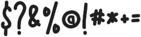 Lyrically ttf (400) Font OTHER CHARS