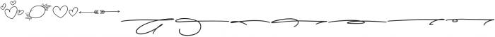 Lysandra Extras otf (400) Font LOWERCASE