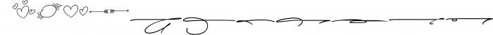 Lysandra Script Typeface Font LOWERCASE