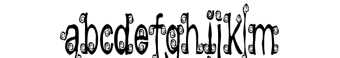 Lyarith Font LOWERCASE
