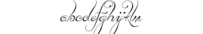 Lydia Puente] Font LOWERCASE