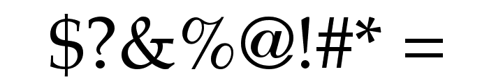 Lymphatic Font OTHER CHARS