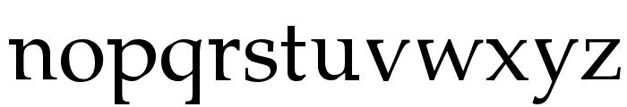Lymphatic Font LOWERCASE