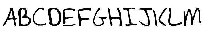 Lynch Font UPPERCASE