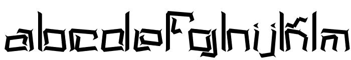Lyneous BRK Font LOWERCASE