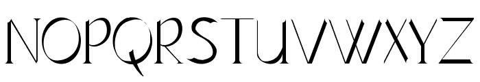 Lynzer Regular Font UPPERCASE