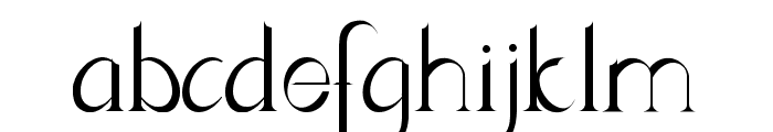 Lynzer Regular Font LOWERCASE