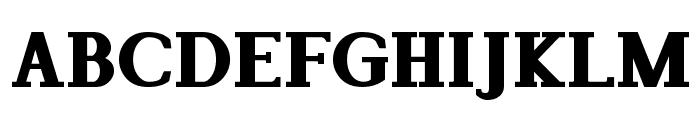 Lyons Serif Black Font UPPERCASE