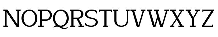 Lyons Serif Font UPPERCASE