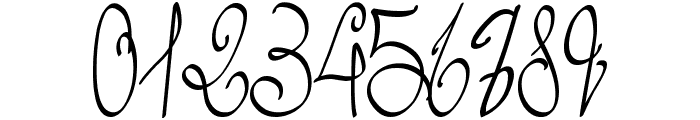 Lyric Dragon Semi Bold Font OTHER CHARS