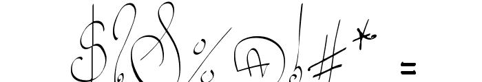 Lyric Dragon Font OTHER CHARS