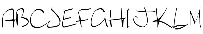 Lyric Dragon Font LOWERCASE