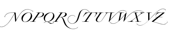 Lysandria Font UPPERCASE