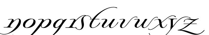 Lysandria Font LOWERCASE