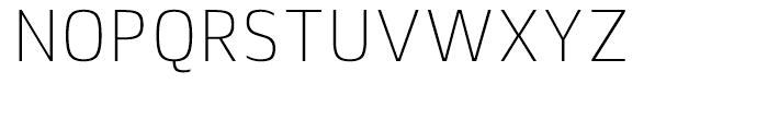 Lytiga Condensed ExtraLight Font UPPERCASE