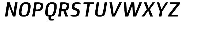 Lytiga Condensed SemiBold Italic Font UPPERCASE