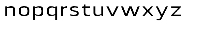 Lytiga Extended Medium Font LOWERCASE