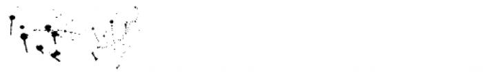 Lycaner Scratch Alt End Font UPPERCASE