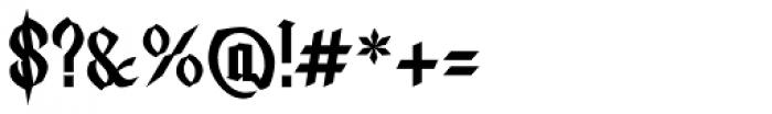 Lycaner Font OTHER CHARS