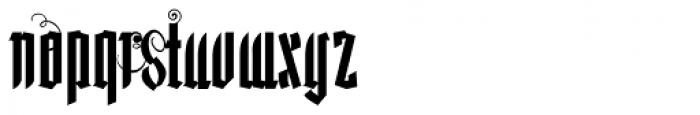 Lycaner Font LOWERCASE