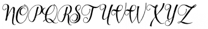 Lyllo Font UPPERCASE