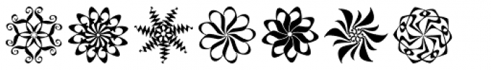 Lyra Stars Font UPPERCASE