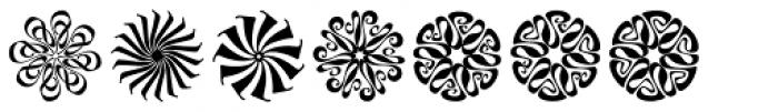 Lyra Stars Font LOWERCASE
