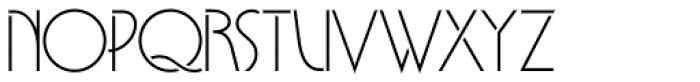 Lyric Stencil NF Font LOWERCASE