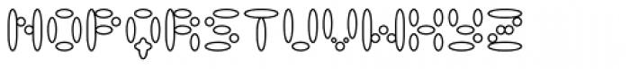 LysosomeOutline Font UPPERCASE