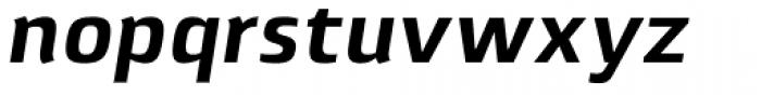 Lytiga Pro Bold Italic Font LOWERCASE