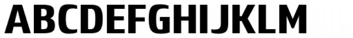 Lytiga Pro Condensed Black Font UPPERCASE