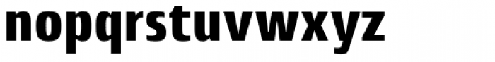 Lytiga Pro Condensed Black Font LOWERCASE