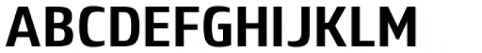 Lytiga Pro Condensed Bold Font UPPERCASE