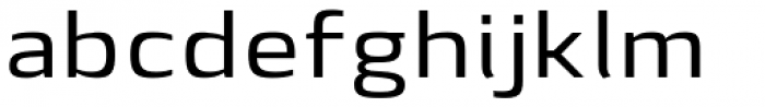 Lytiga Pro Extended Medium Font LOWERCASE