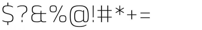 Lytiga Pro ExtraLight Font OTHER CHARS
