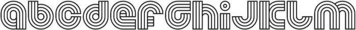 LZO otf (400) Font LOWERCASE