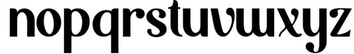 Möfita font 2 Font LOWERCASE